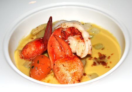 Crab bisque at Talavera Four Seasons Troon North Arizona