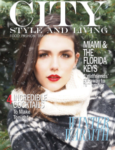 City Style and Living Winter 2014 Cover