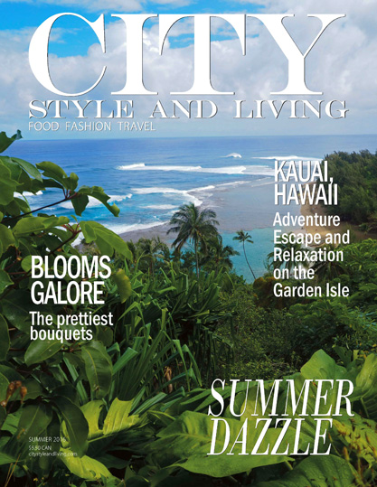 City Style and Living Cover Summer 2016