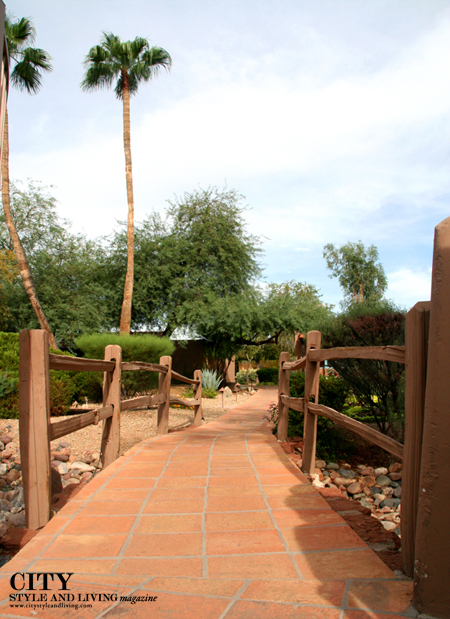 Landscape at Hermosa Inn Paradise Valley Arizona City Style and Living