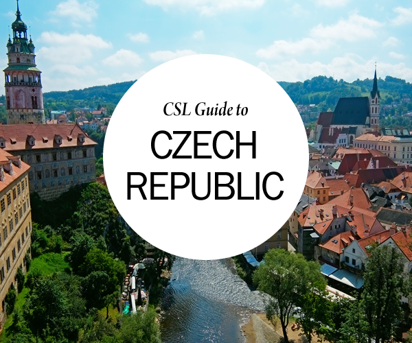 CSL Travel Guide to Czech Republic