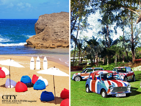 City Style and Living Magazine Mini Cooper S 2014 in Puerto Rico Beach classic cars