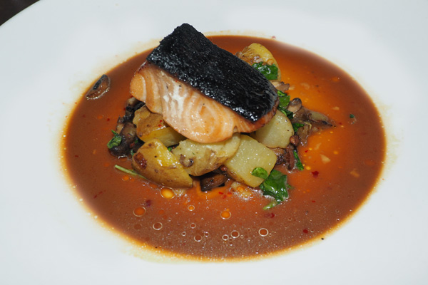 Sablefish with orange tamarind