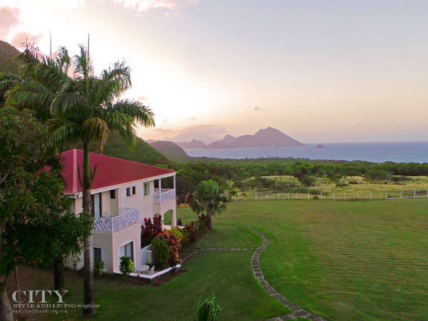 Sunset at the Mount Nevis Hotel