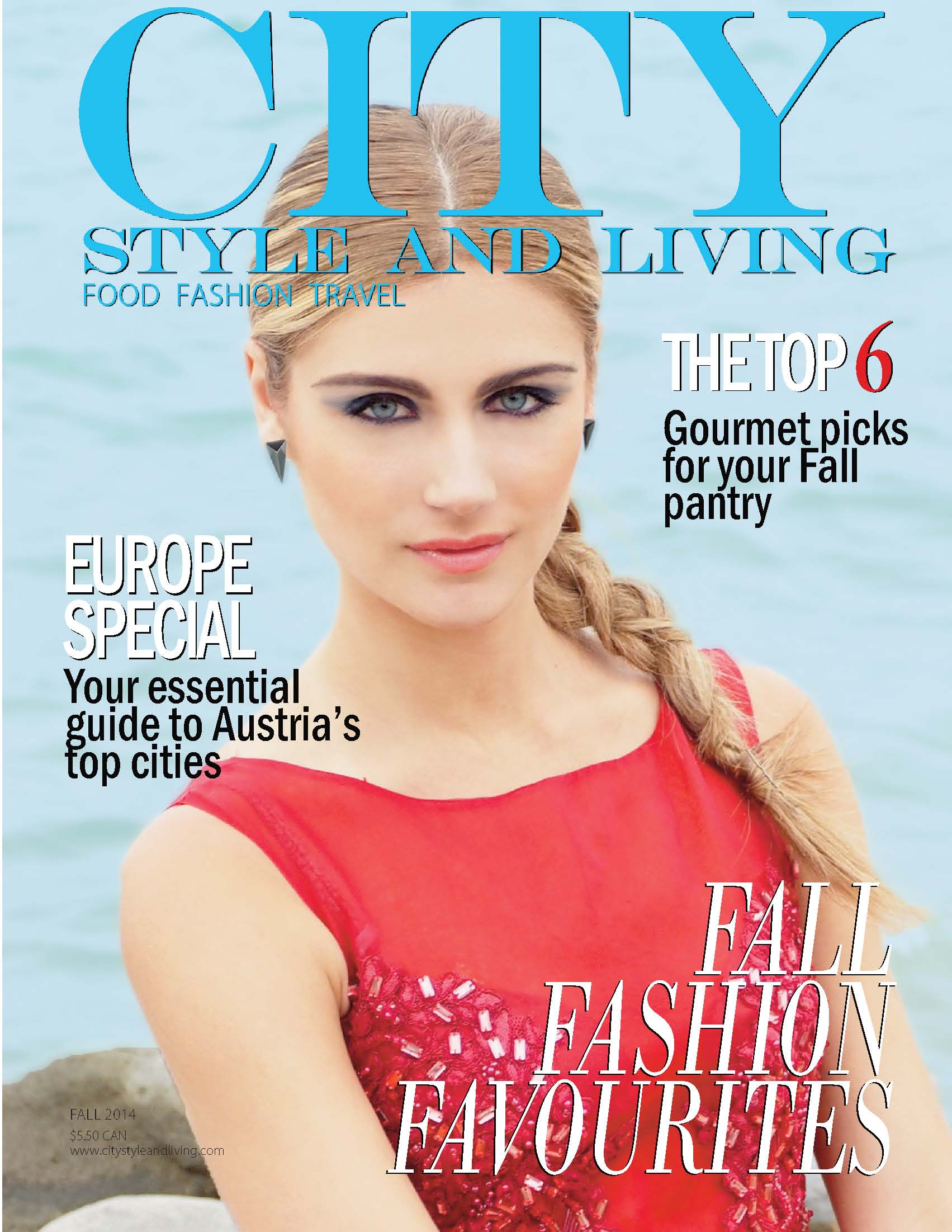 CSL_Fall2014 Cover food fashion travel luxury lifestyle