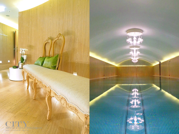 Sans Souci Wien The Spa Seating and pool
