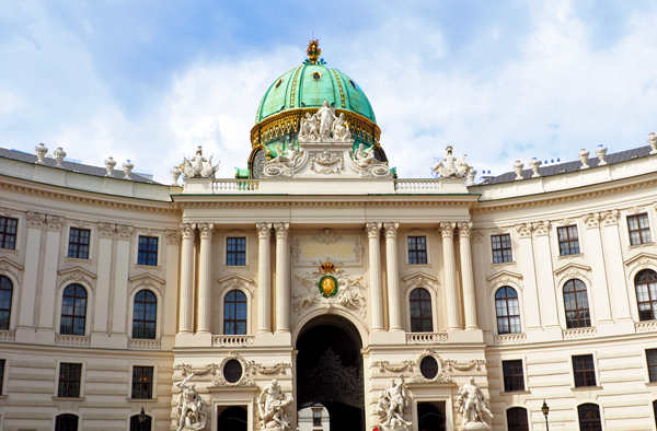 The Hofburg, Vienna Austria.