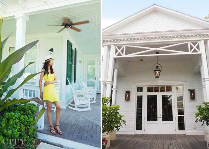 City style and living magazine style fashion blogger sunset key florida keys cottage
