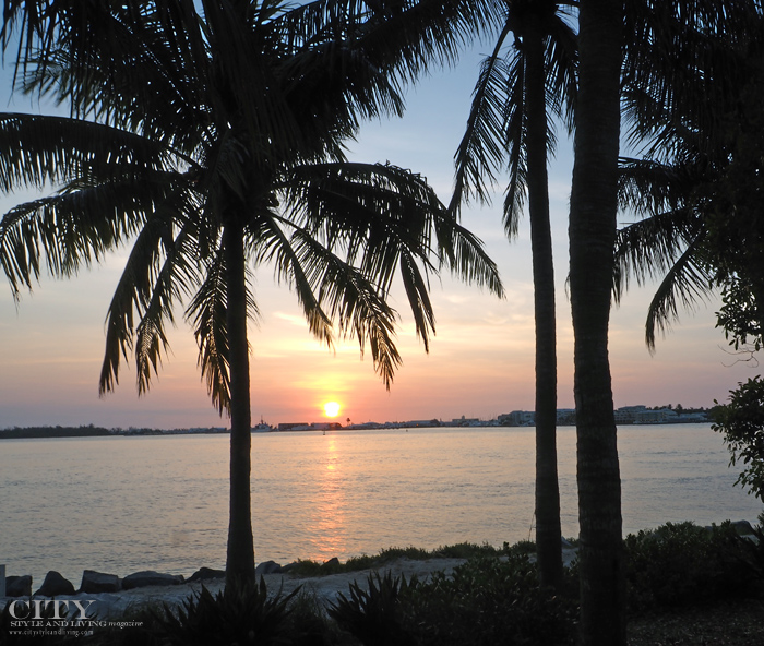 City style and living magazine style fashion blogger sunset key florida keys sunset