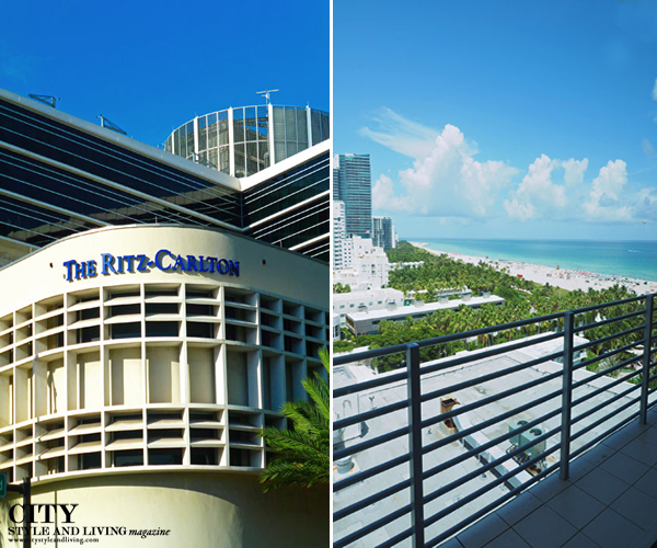 the Ritz Carlton South Beach Exterior and Beach view