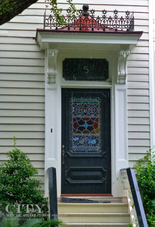 Charleston-Door-Stained-Glass