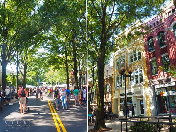 Greenville Main Street and Saturday Market