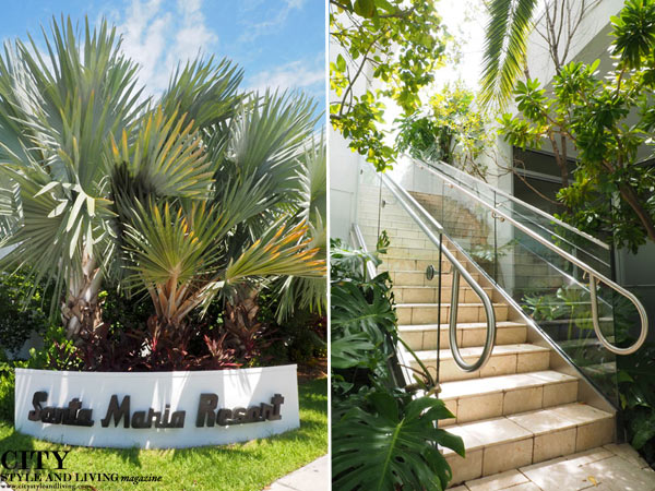 Santa-Maria-Suites-Key-West-Sign-and-Foliage