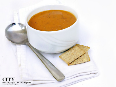 city style and living magazine easy date night recipe pumpkin soup