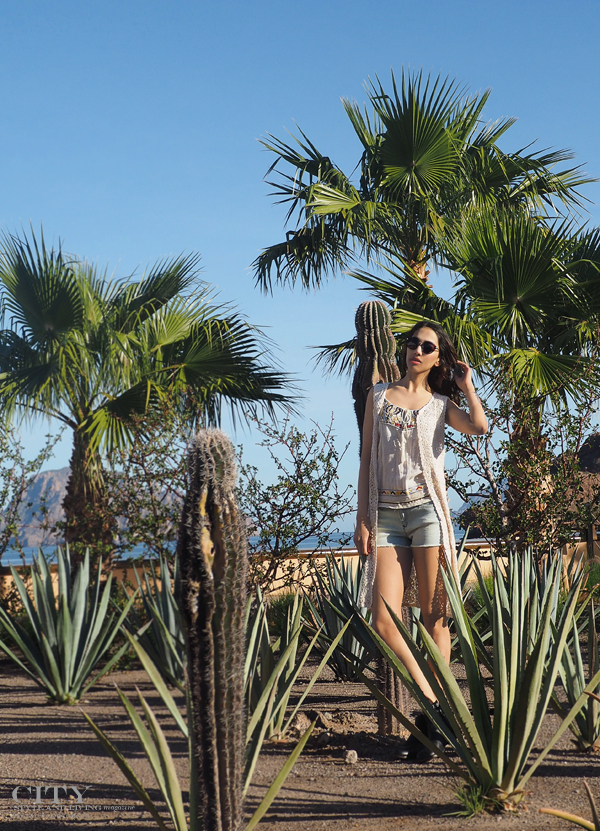City style and living magazine style fashion blogger loreto mexico loreto desert villas palmar bohemian