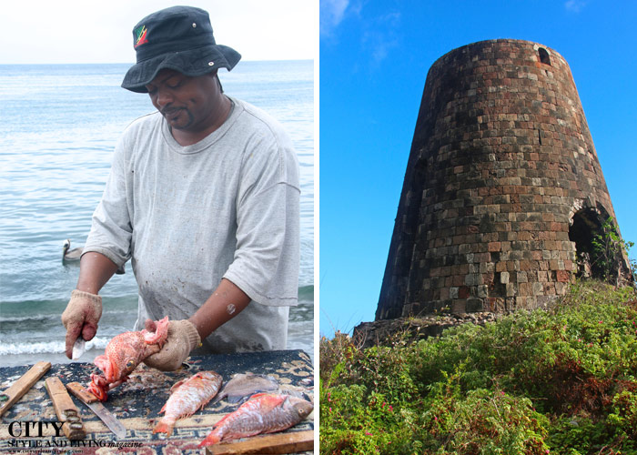 City Style and Living Magazine st kitts and nevis fisherman and sugar mill