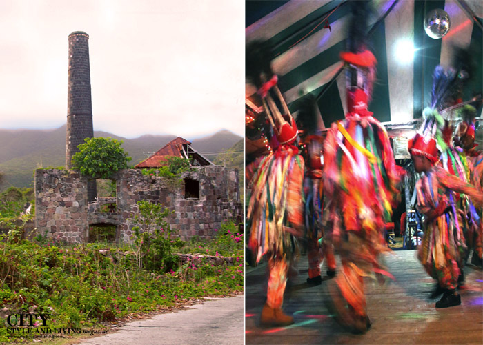 City Style and Living Magazine st kitts and nevis sugar mill and dancers