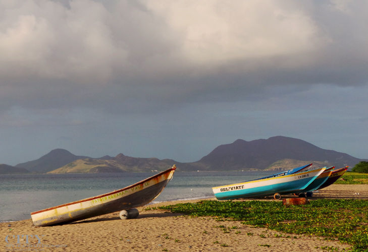 City Style and Living Magazine st kitts and nevis boats beach