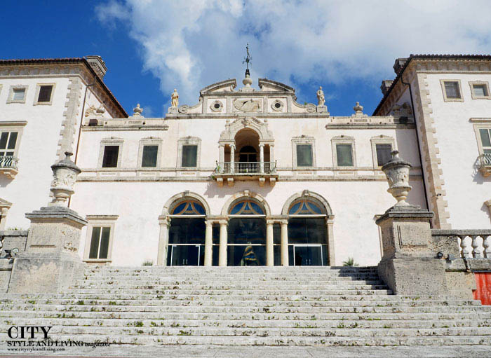 City style and living magazine style fashion blogger vizcaya miami architecture grand stairs