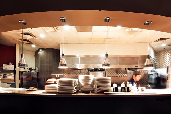 A look at the kitchen at Venue in Lincoln Nebraska