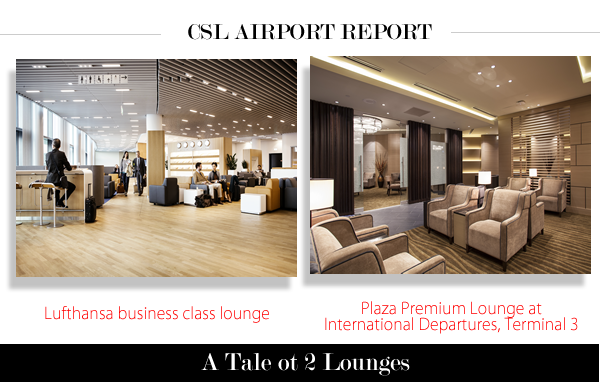 City Style and Living Magazine Airport Lounges: Lufthansa business lounge and Plaza Premium Lounge at Pearson International