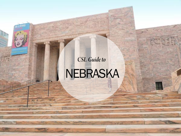 City Style and living magazine travel guide to nebraska