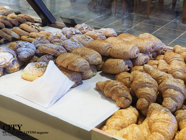 Pastries at Le Quartier Baking Company in Lincoln.