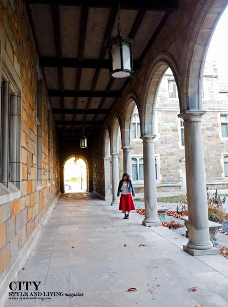Arches and other classic Roman and Greek styles reoccur throughout the campus. /K&S Media.