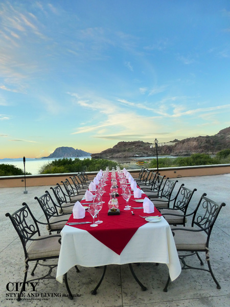 Sunset Dinner at Villa Del Palmar Loreto Mexico