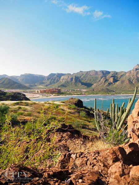 Villa Palmar Loreto as Seen romHike
