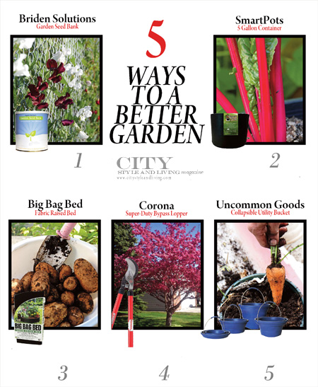 5 Ways to a Better Garden City Style and Living Magazine