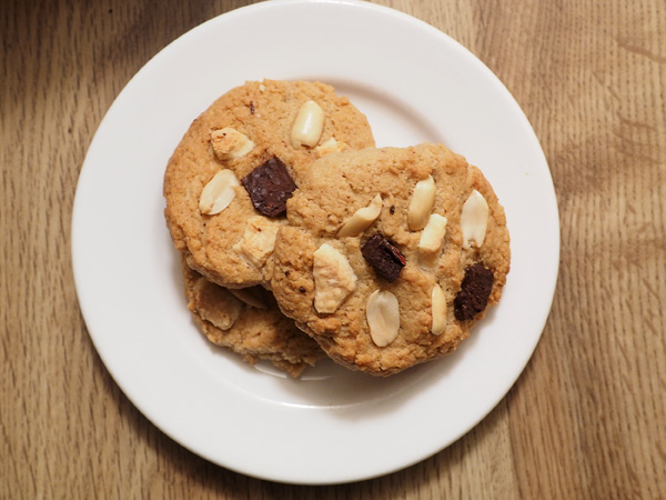 Gluten Free Peanut Butter Chocolate Chip Cookie