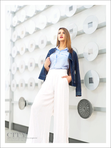 City Style and Living Magazine Fashion Editorial Telus Spark Summer 2015 Mirror