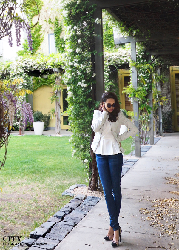 City Style and Living Magazine Healdsburg downtown peplum style blogger