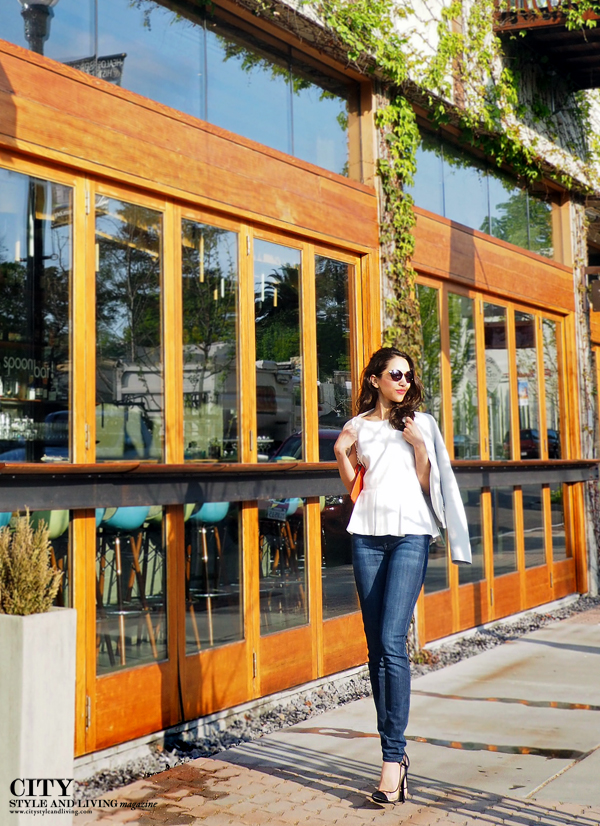 City Style and Living Magazine Healdsburg downtown peplum style blogger h2 hotel