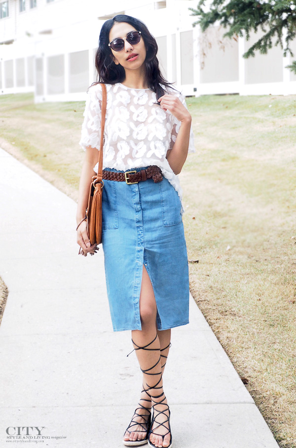 Coachella style blogger City Style and Living