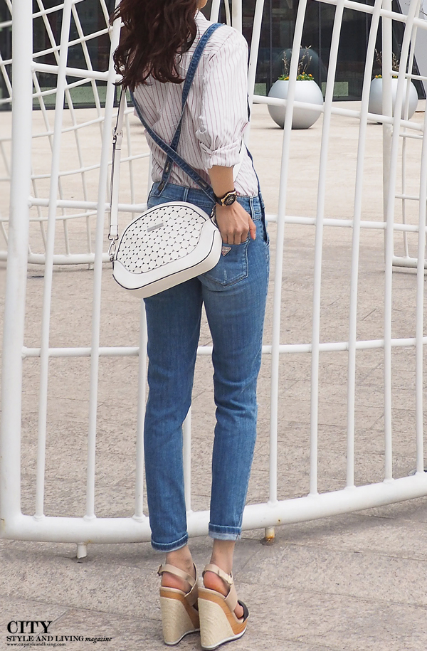 Jean Jumpsuit Guess Jeans City Style and Living Magazine
