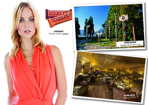 Laura Vandervoort City Style and Living Travel Favourites