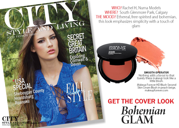 City Style and Living Magazine Get the cover look fall 2015