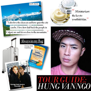 City STyle and Living Magaizne celebrity and model makeup arist Hung Van Ngo