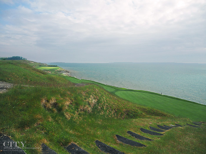 City Style and Living Magazine The American Club Whistling straits lake Michigan