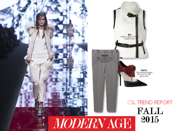 City Style and Living Magazine fashion Trends fall 2015 modern age