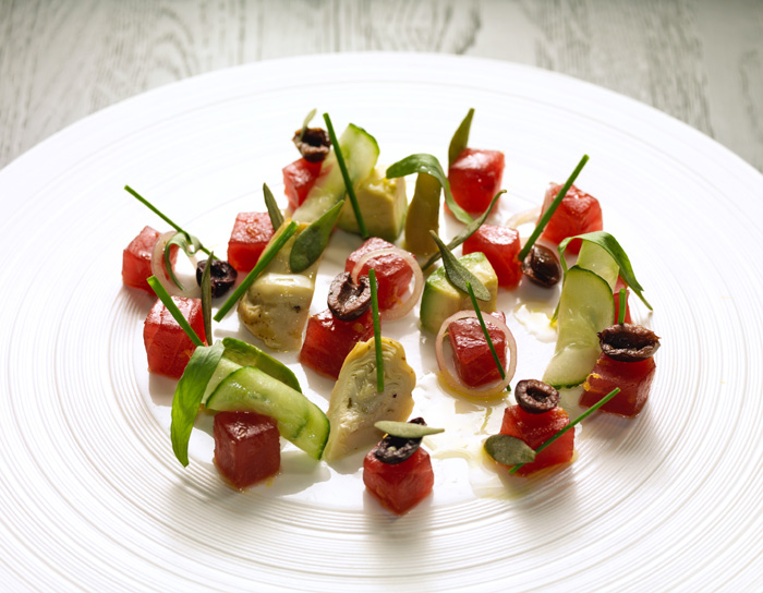Tuna Crudo Mondrian London