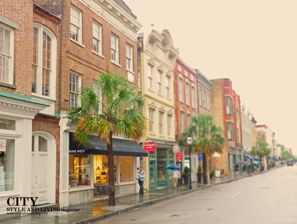 Charleston Street Scene City Style and Living
