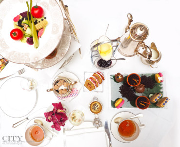 Conrad St James London City style and living magazine afternoon tea