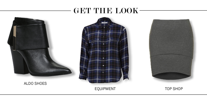 city style and living magazine get the look plaid