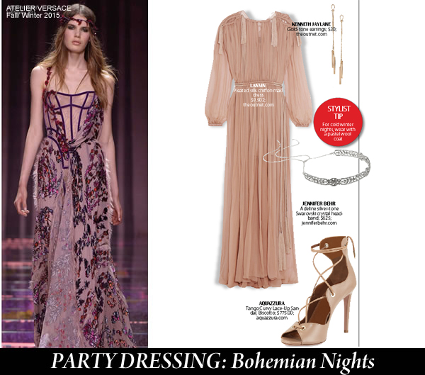 city style and living magazine party dressing Bohemian Nights