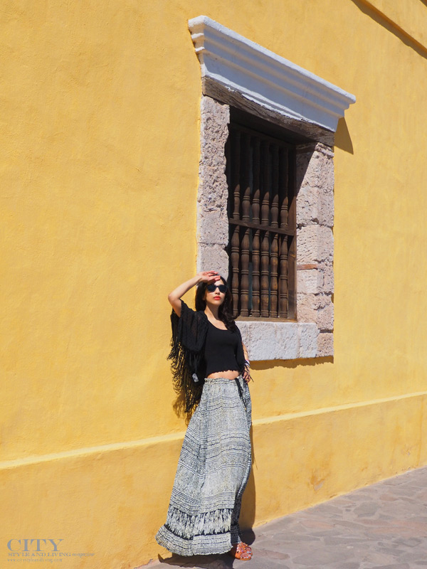 City style and living magazine calgary style fashion blogger downtown loreto mexico la mision