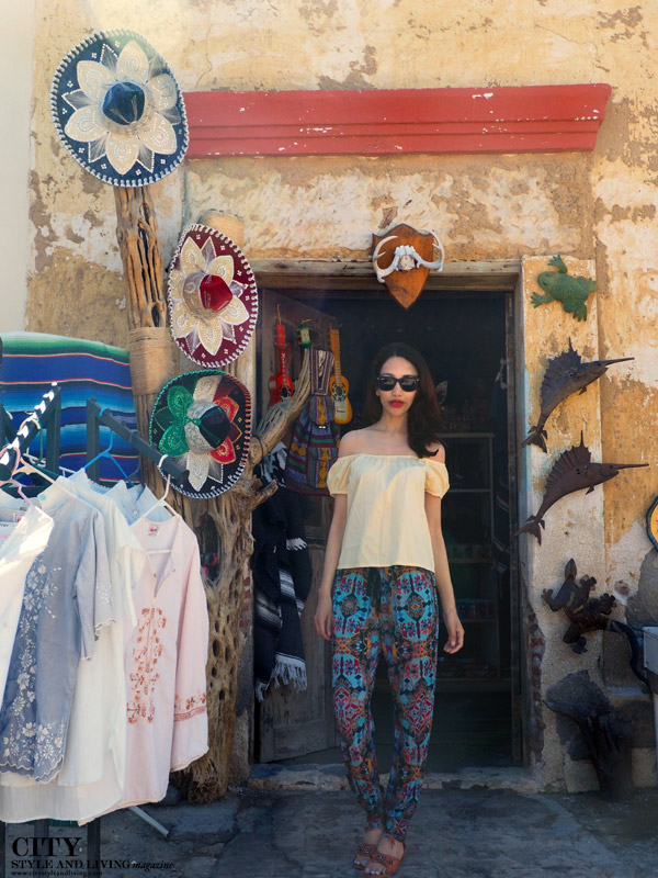 City style and living magazine calgary style fashion blogger downtown loreto mexico shop