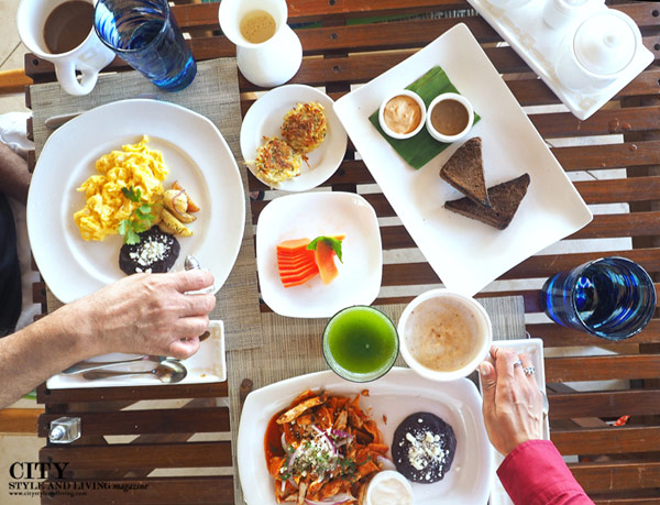 city style and living magazine the viceroy riviera maya Breakfast